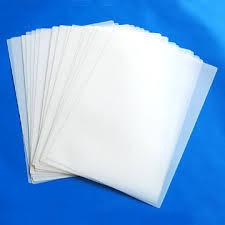 Giấy ép plastic khổ B5 (CP5) - 210x270 mm - 35mic