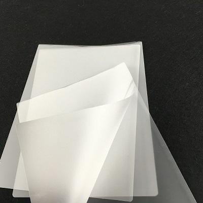Giấy ép plastic khổ CP12 - 310x520 mm - 45mic