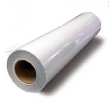 Giấy ép lụa (giấy cán nguội) khổ 1m27 (Đế trắng)