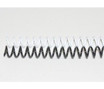 Lò xo nhựa cuộn ốc phi 8