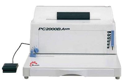 Máy đóng gáy xoắn cuộn ốc SILICON BM-PC 2000BA