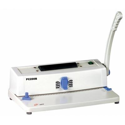 Máy đóng gáy xoắn cuộn ốc Silicon BM-PC 200B