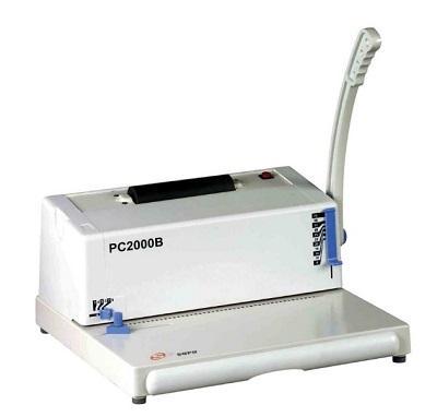 Máy đóng gáy xoắn cuộn ốc SUPU PC 2000B